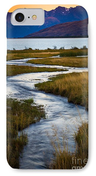 Viedma Creek IPhone Case by Inge Johnsson