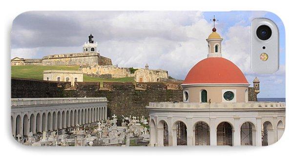 Viejo San Juan IPhone Case by Daniel Sheldon