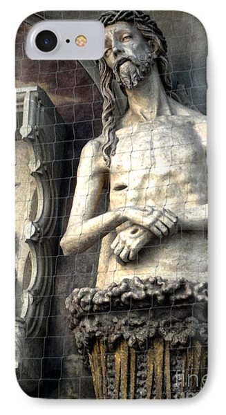 Vienna Austria - St. Stephen's Cathedral - Christ IPhone Case by Gregory Dyer