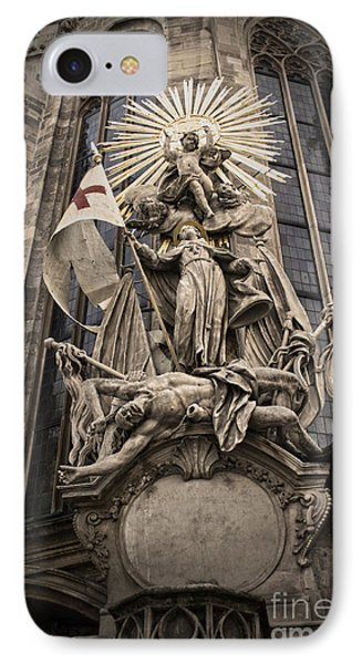 Vienna Austria - St. Stephen's Cathedral IPhone Case by Gregory Dyer
