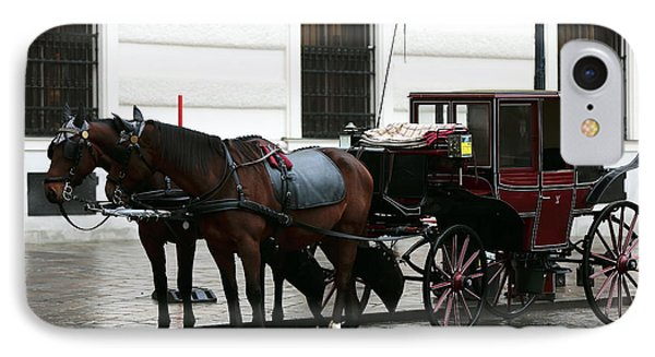 Vienna Carriage IPhone Case by John Rizzuto