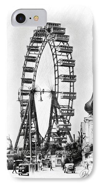 Vienna Ferris Wheel IPhone Case