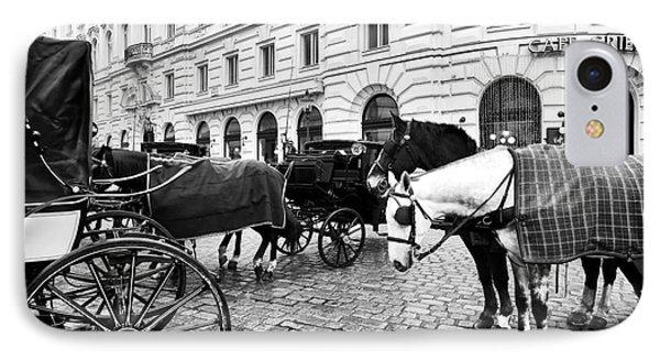 Vienna Horses IPhone Case
