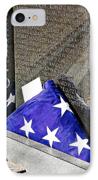Viet Nam Memorial Washington IPhone Case by Bob Pardue
