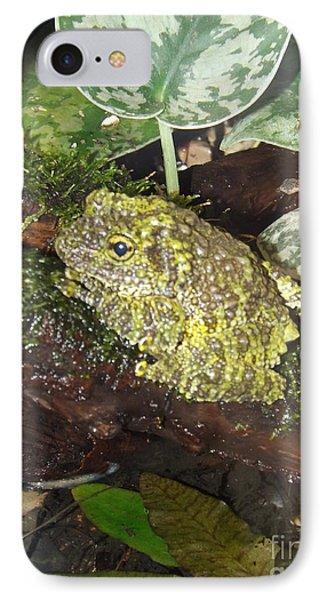 Vietnamese Mossy Frog Phone Case by Sara  Raber