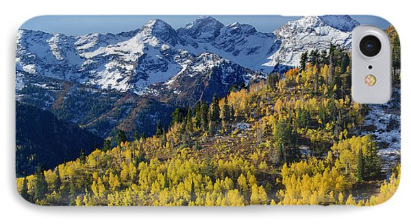 View Across Butler Fork Of Mount IPhone Case by Howie Garber