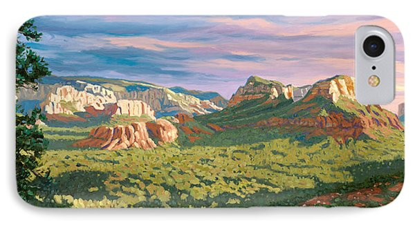 View From Airport Mesa - Sedona IPhone Case