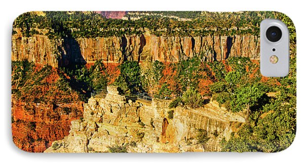 IPhone Case featuring the photograph View From Angel Point  by Bob and Nadine Johnston