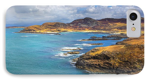 View From Ardnamurchan Phone Case by David Hare
