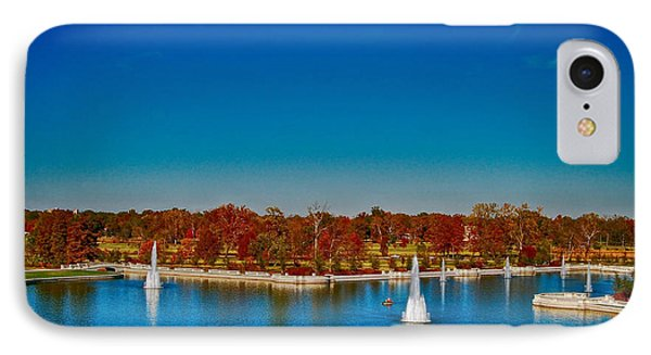 View From Art Hill Forest Park Missouri IPhone Case