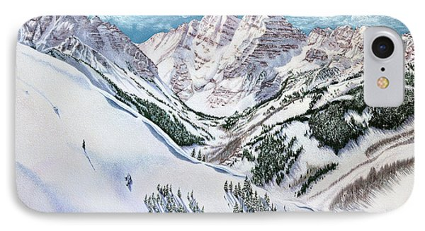 View From Aspen Highlands IPhone Case