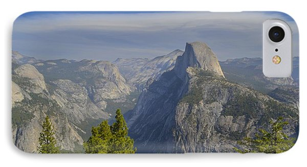 View From Glacier Point Yosemite IPhone Case by Alex King