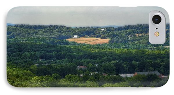 IPhone Case featuring the photograph View From Goat Hill by Debra Fedchin
