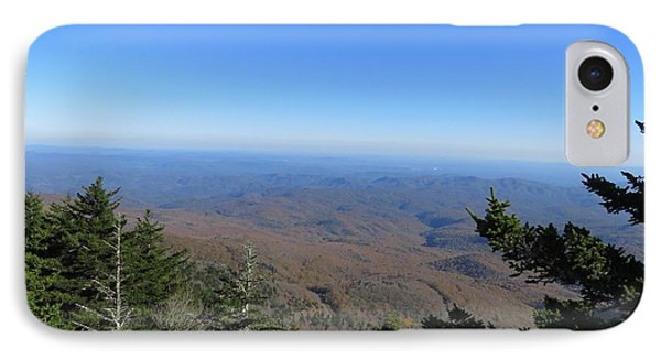 View From Grandfather Mountain 1 IPhone Case by Kathy Long