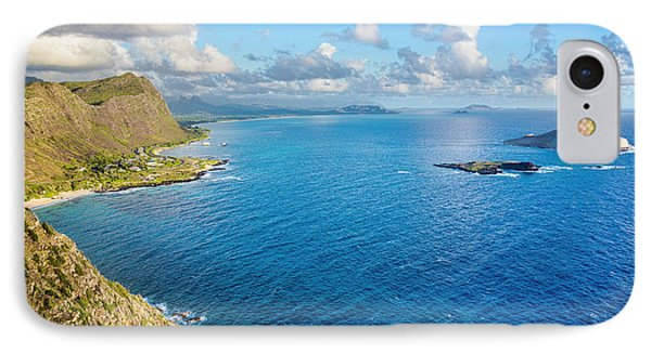 IPhone Case featuring the photograph View From Makapuu Point by Aloha Art