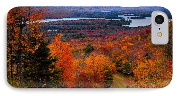 View From Mccauley Mountain II IPhone Case by David Patterson