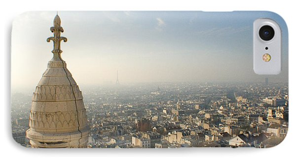IPhone Case featuring the photograph View From Montmartre by Jon Emery