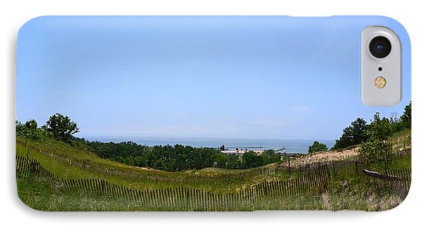 View From Mount Pisgah IPhone Case by Michelle Calkins