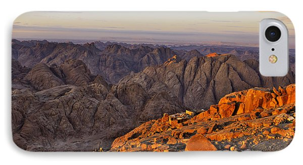 View From Mount Sinai Phone Case by Ivan Slosar