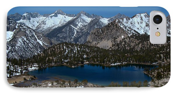 View From Onion Trail 1 IPhone Case by Jane Axman