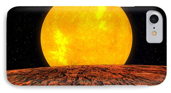 View From Planet Kepler 10b Phone Case by Movie Poster Prints