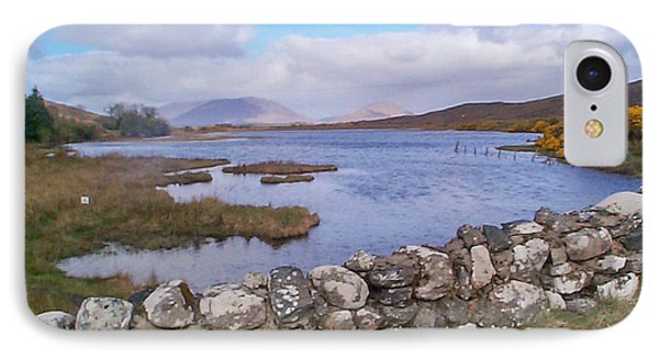 View From Quiet Man Bridge Oughterard Ireland IPhone Case