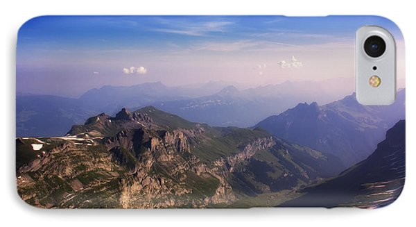 IPhone Case featuring the photograph View From Schilthorn by Wade Aiken