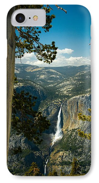 View From Sentinel Dome IPhone Case by Celso Diniz