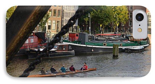 'skinny Bridge' Amsterdam IPhone Case by Cheryl Miller