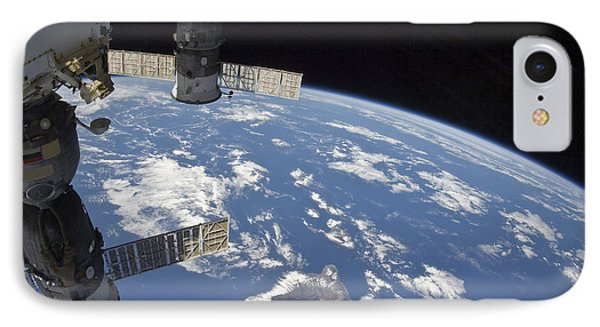 View From Space Showing Part Phone Case by Stocktrek Images