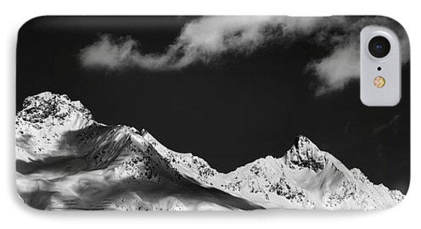 View From St. Moritz IPhone Case by Marc Huebner