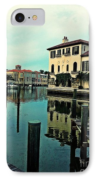 View From The Boardwalk 3 IPhone Case by K Simmons Luna