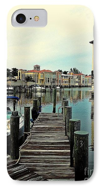 View From The Boardwalk 2 IPhone Case by K Simmons Luna
