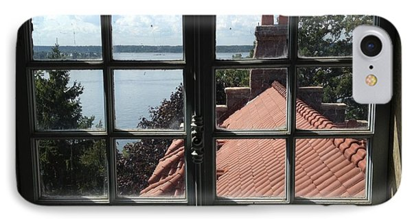 IPhone Case featuring the photograph View From The Castle Window by Alan Lakin