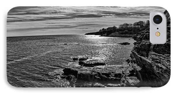 IPhone Case featuring the photograph View From The Cliffwalk by John Hoey