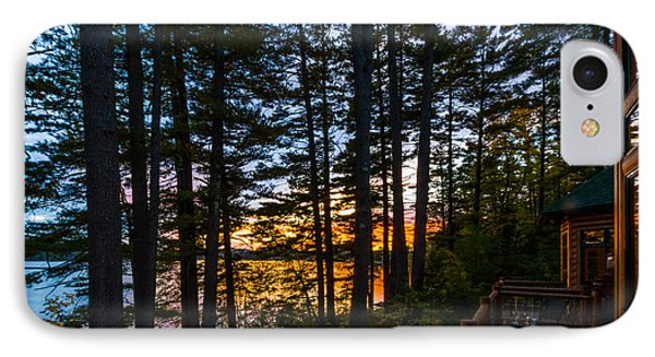 View From The Deck IPhone Case by Karen Stephenson