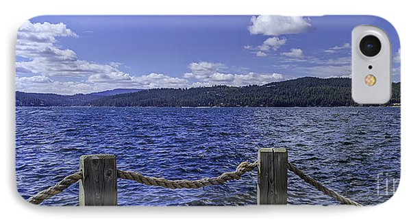 View From The Dock IPhone Case by Nancy Marie Ricketts
