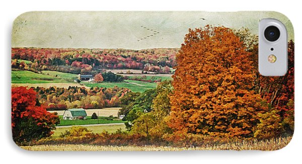 View From The Hill... Phone Case by Lianne Schneider