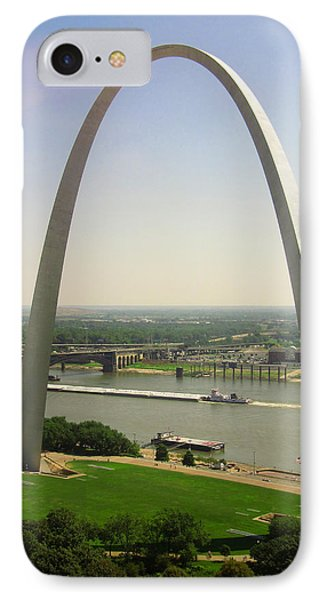 View From The Top Of The Riverfront IPhone Case by Garry McMichael