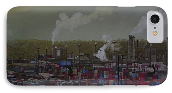 View From Viaduct Phone Case by Thu Nguyen