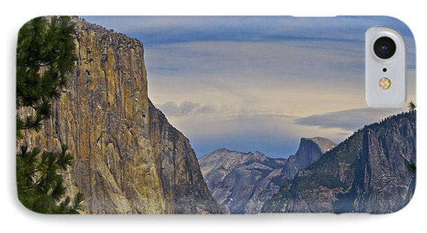 View From Wawona Tunnel IPhone Case