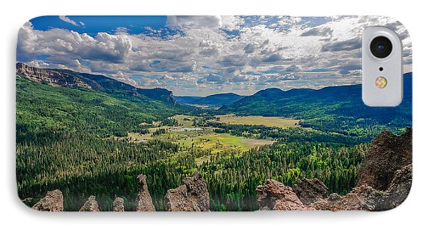View From Wolf Creek Pass IPhone Case