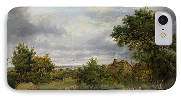 View In Hampshire, 1826 IPhone Case by Patrick Nasmyth