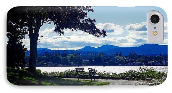 View In Victoria B C Canada IPhone Case by Gena Weiser