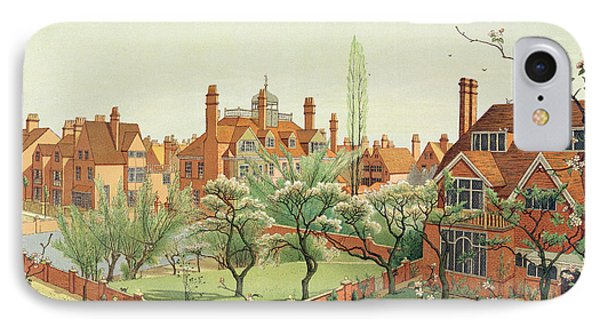 View Of Bedford Park IPhone Case by English School