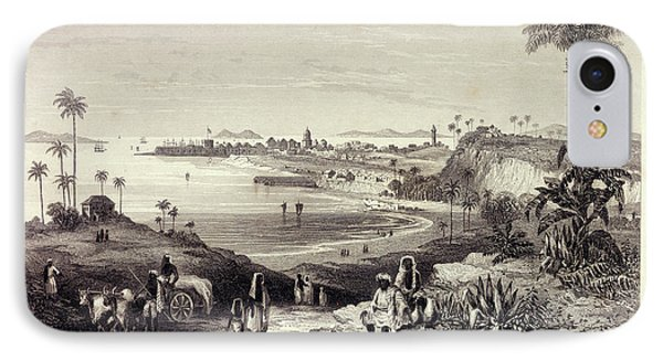 View Of Bombay Showing The Fort IPhone Case by British Library