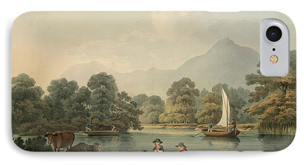 View Of Brydden And Moely Golfe IPhone Case by British Library
