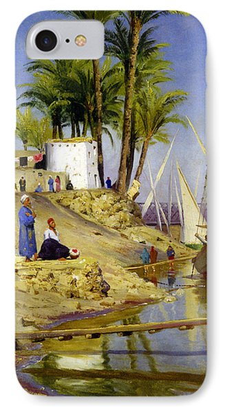 View Of Cairo IPhone Case by Peder Mork Monsted