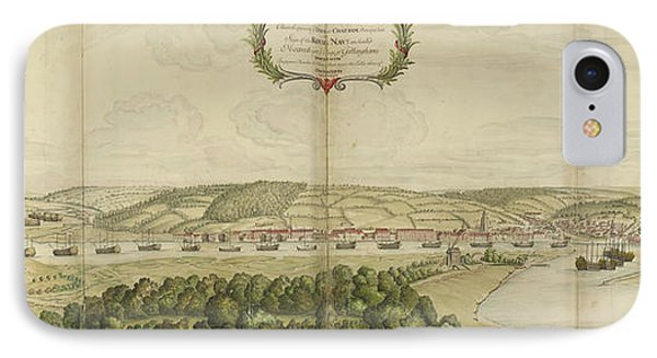 View Of Chatham IPhone Case by British Library