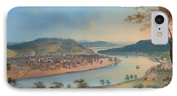 View Of Cincinnati From Covington IPhone Case by Mountain Dreams